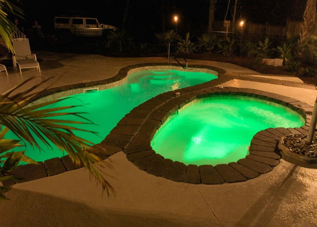 Blue Hawaiian Fiberglass Pools And Spas Natural Fiberglass