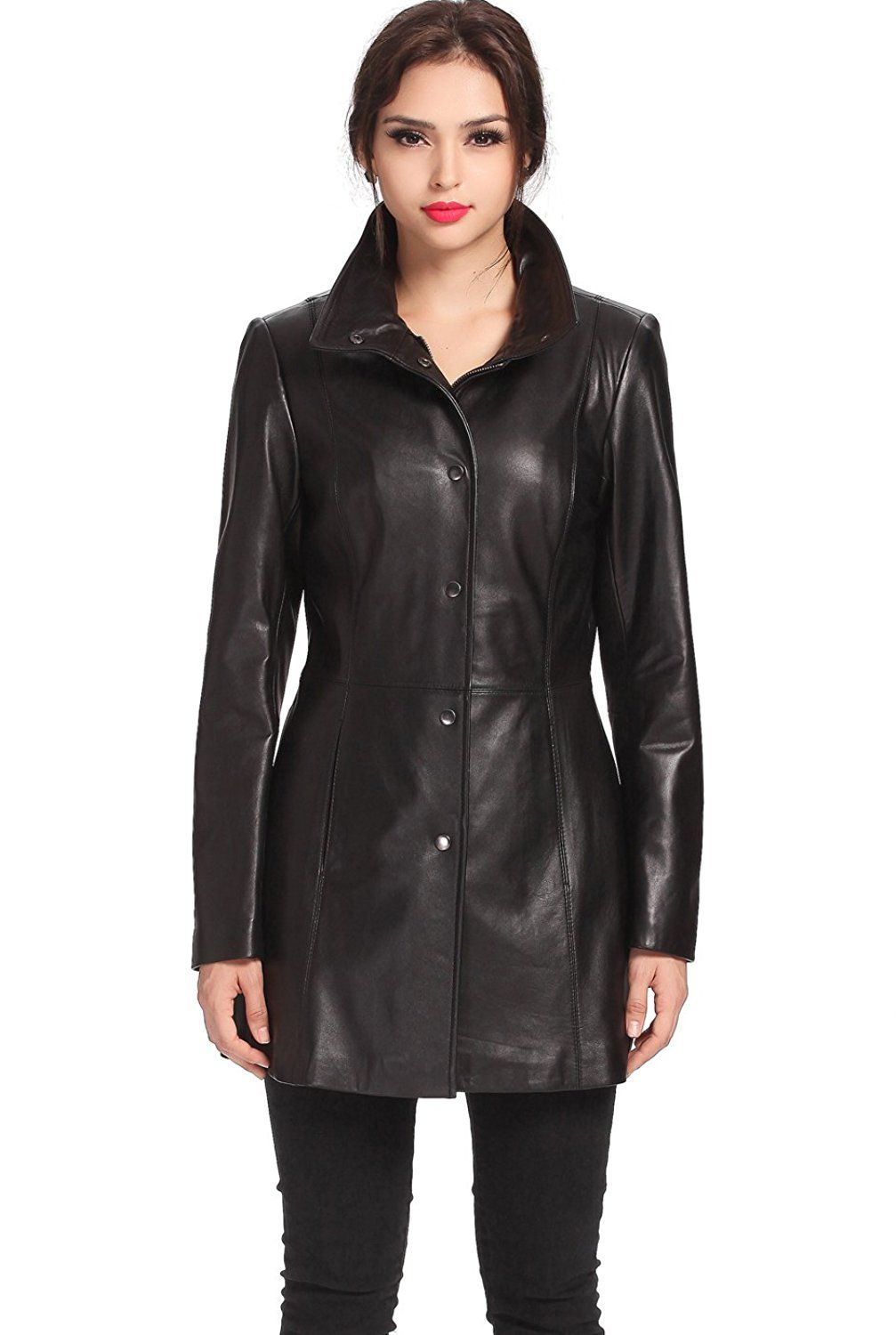 616949590ae BGSD Women s  Jocelyn  Missy and Plus Size New Zealand Lambskin Leather Car  Coat    This is an Amazon Affiliate link. Find out more about the great  product ...
