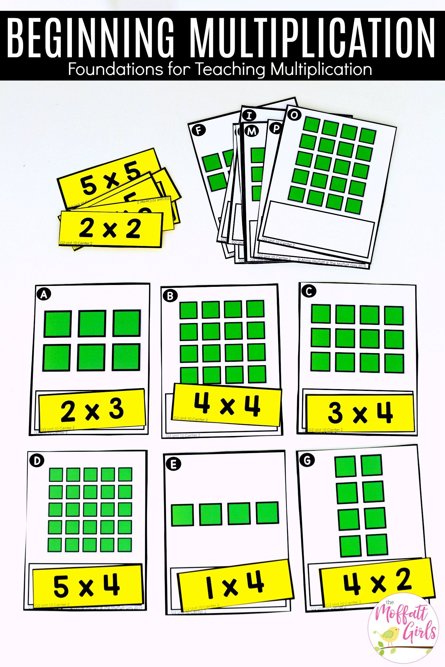 2nd Grade Math Multiplication With Images