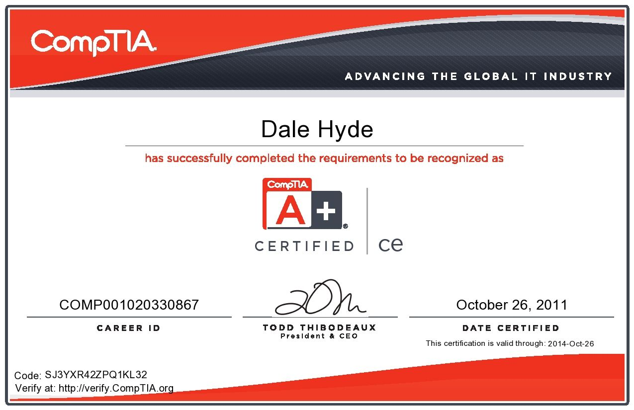 comptia certification exam certificate syllabus certificates paper hubpages question web ielts
