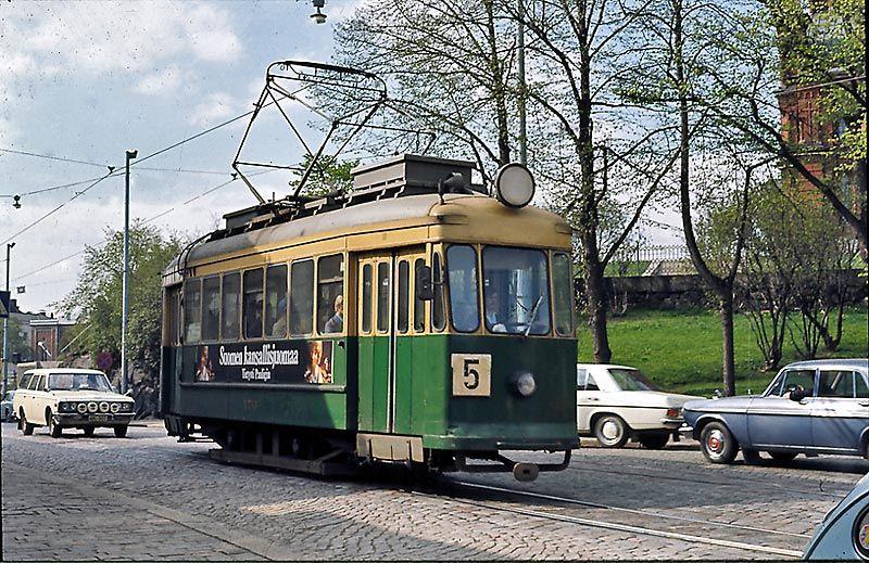 Raitiovaunu Katajanokka