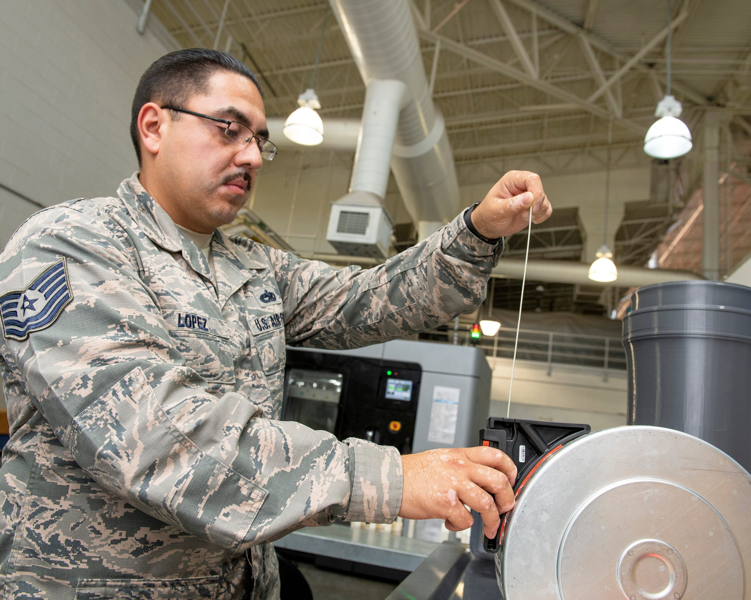 Air Force base produces first certified 3Dprinted