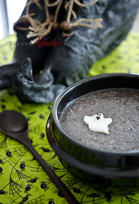 검은 깨죽 - Black Sesame Porridge
