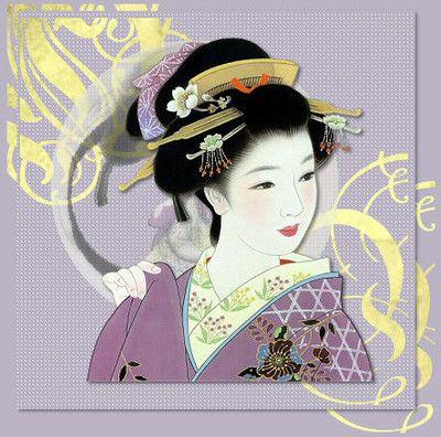Pamela-Ann: Geisha Art