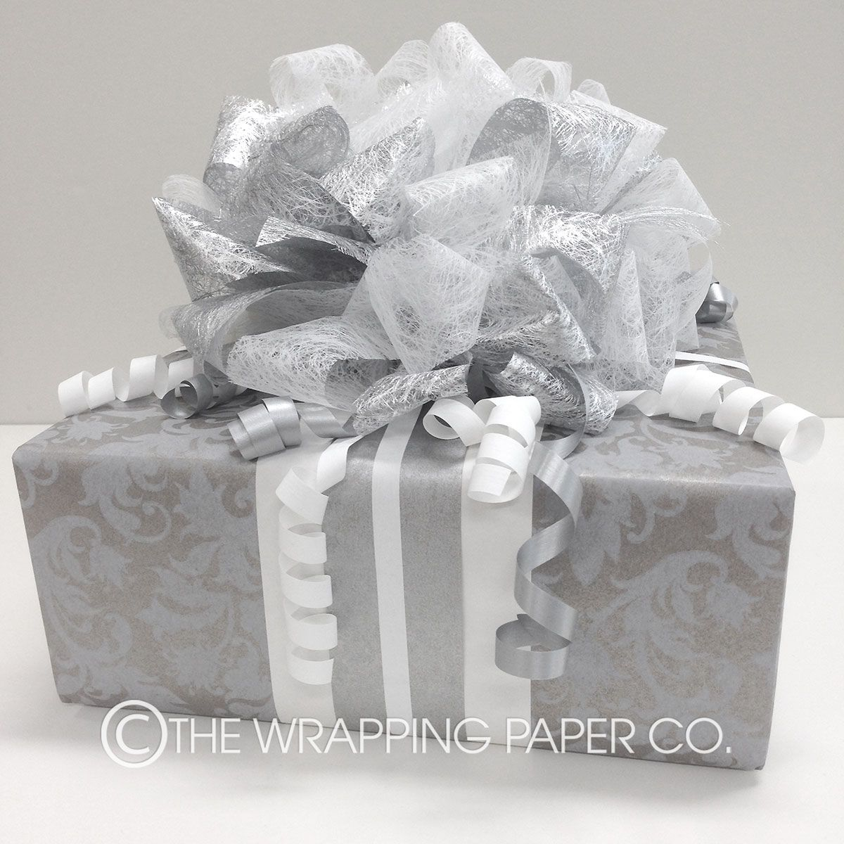 Wrapco wedding gift wrapped in Vintage Antique Kraft with a handmade ...
