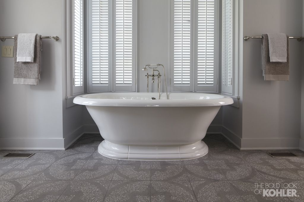 The Bold Look of | Bath, Alcove and Tubs