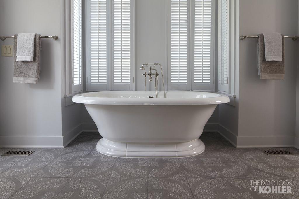 The Bold Look Of Kohler Tub Vintage Tub Vintage Bathrooms