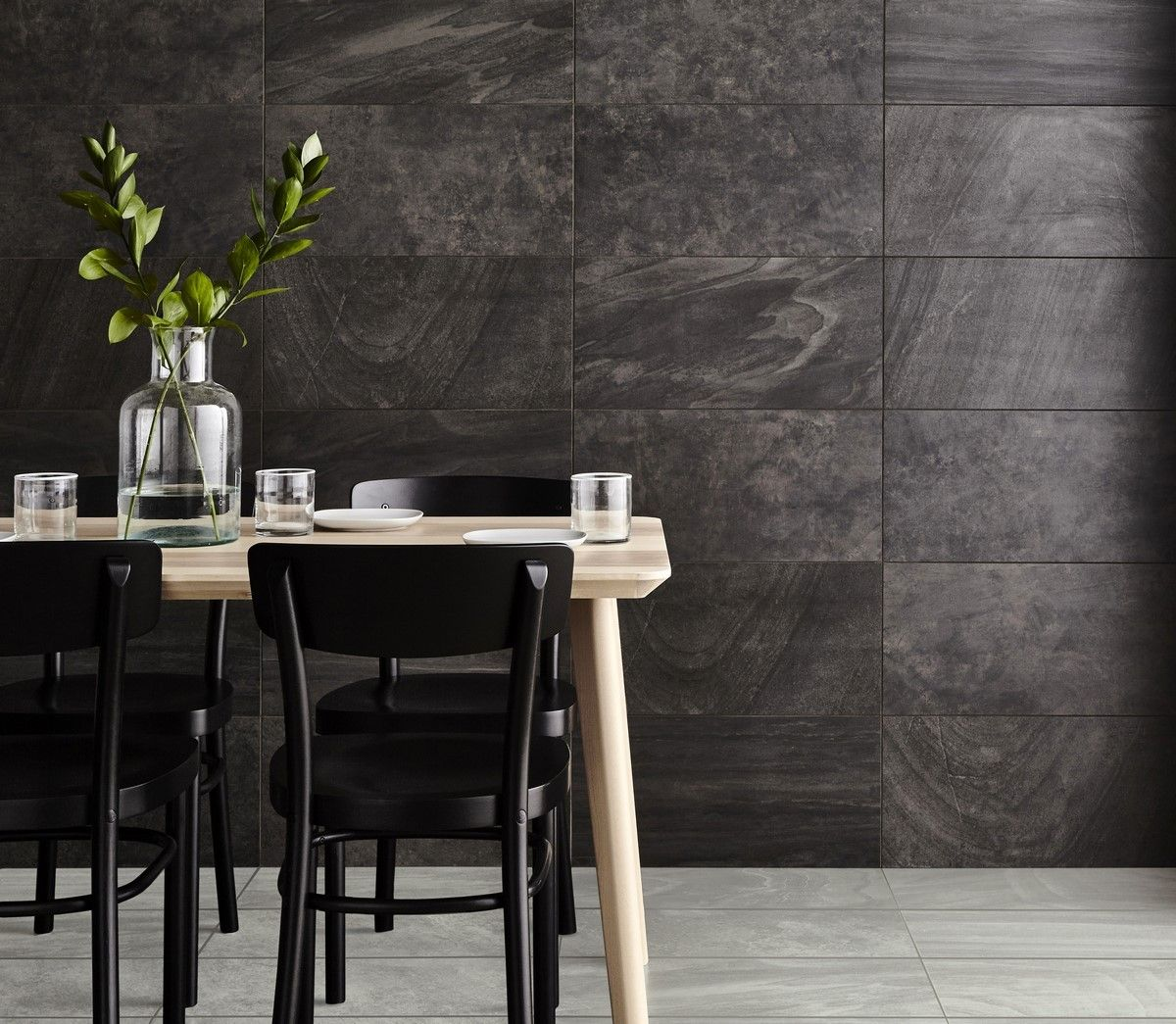Inverno Black Marble Rectified Wall And Floor Tile Wall And Floor Tiles Marble Wall Black Marble Tile