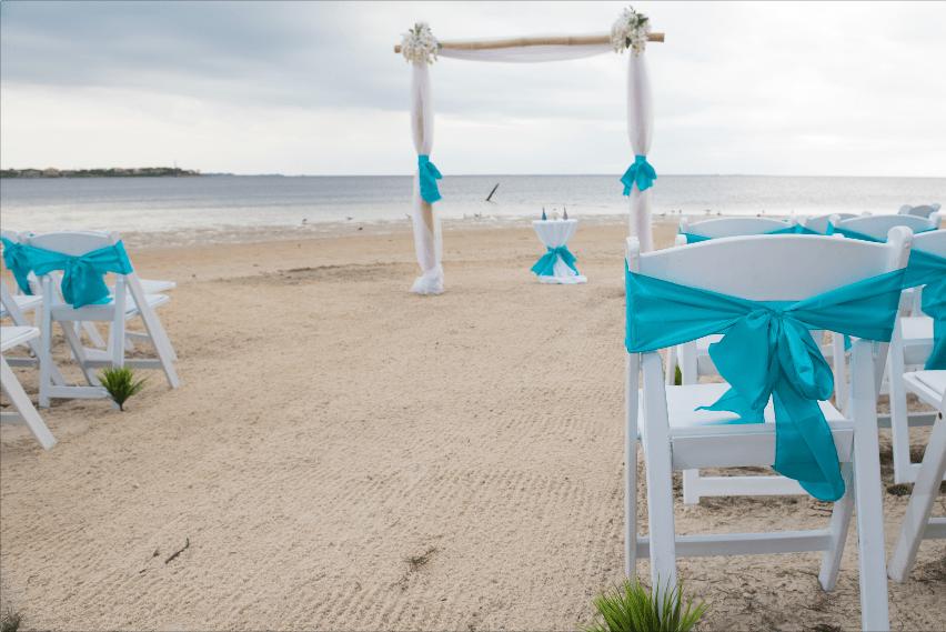 Florida Beach Weddings on a Budget Florida beach wedding