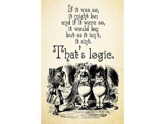 TWEEDLEDEE & TWEEDLEDUM - If it was so it might be That\'s ...