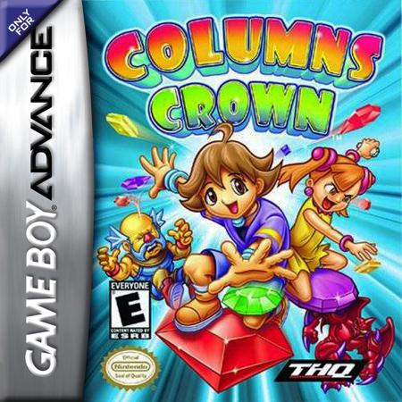 Final Fantasy 4 Gba Play Columns Crown Nintendo Game Boy Advance