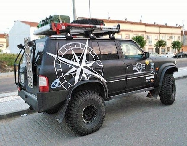 Nissan Patrol Gr Y61 Wagon, not a jeep but I want the decal