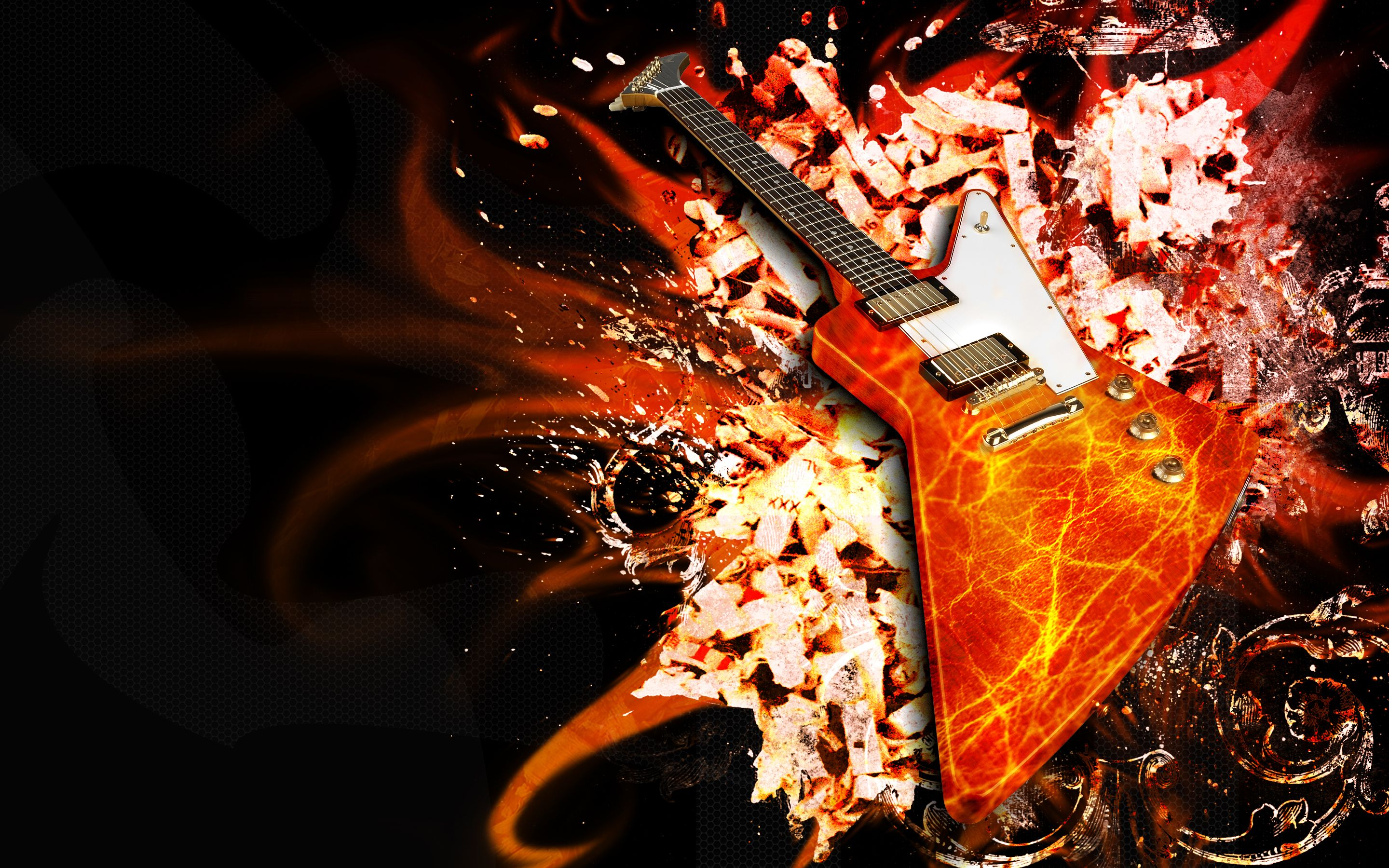 guitar puter wallpapers desktop backgrounds
