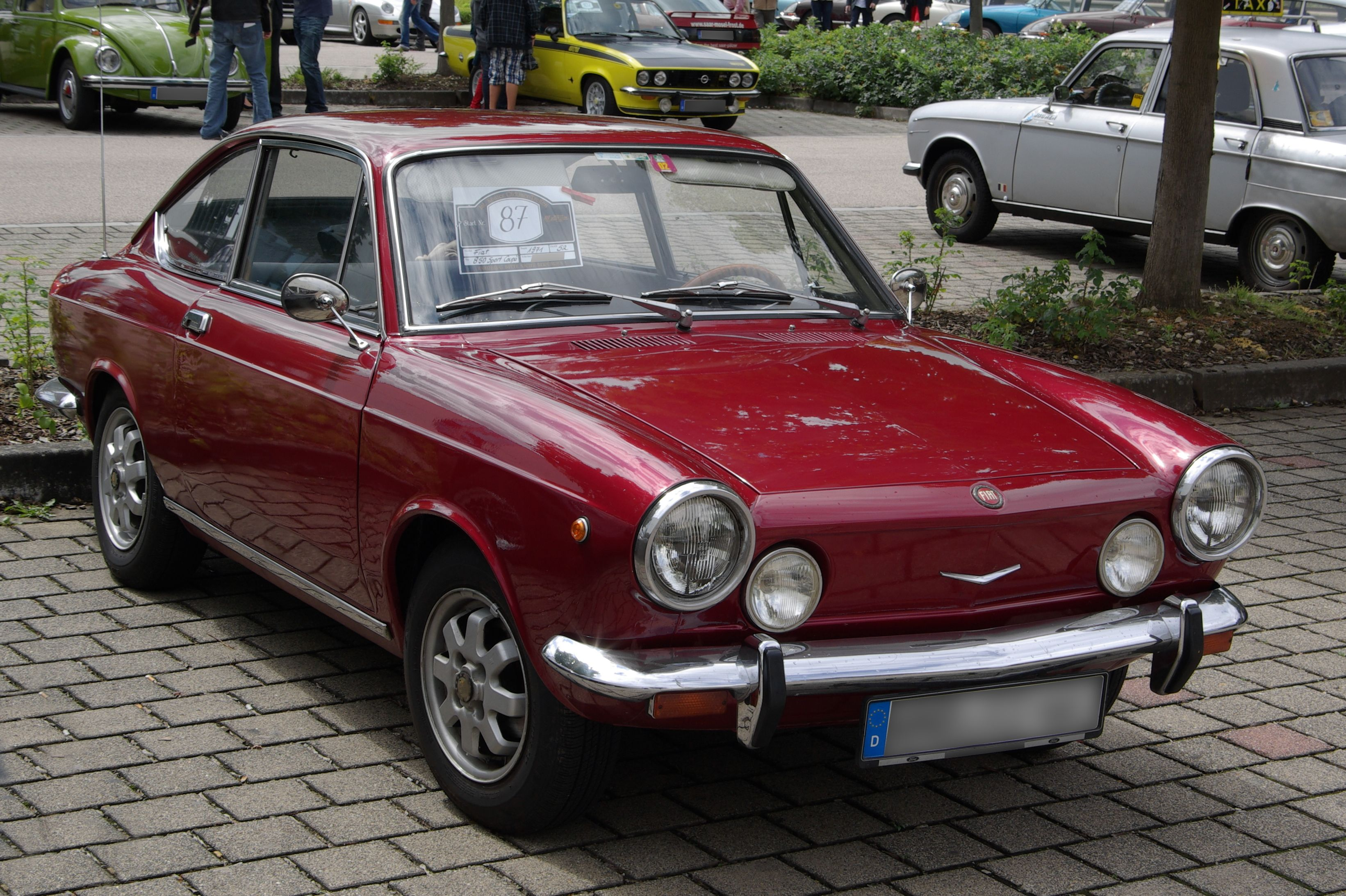 fiat 850 sport coupe Yahoo Search Results Fiat Simca