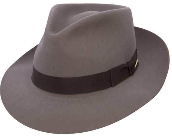 Stetson Chatham Fedora Hat - Caribou  f43aac65fcc