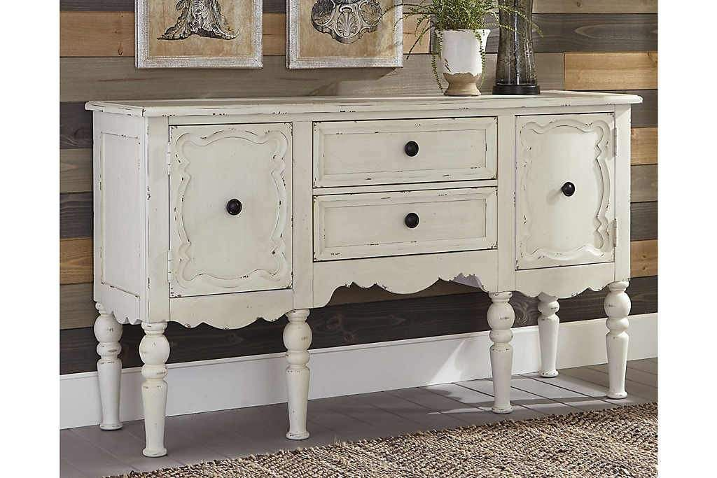 13++ White accent cabinet with drawers info