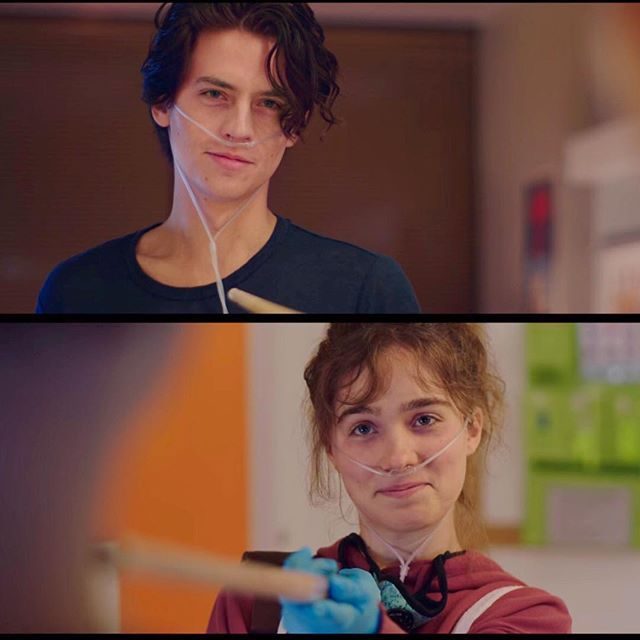Just Jared Jr. в Instagram: «Were a mess right now after watching the trailer for #ColeSprouse and #HaleyLuRichardson's new movie #FiveFeetApart. Click the LINK IN BIO…» #moviestowatch