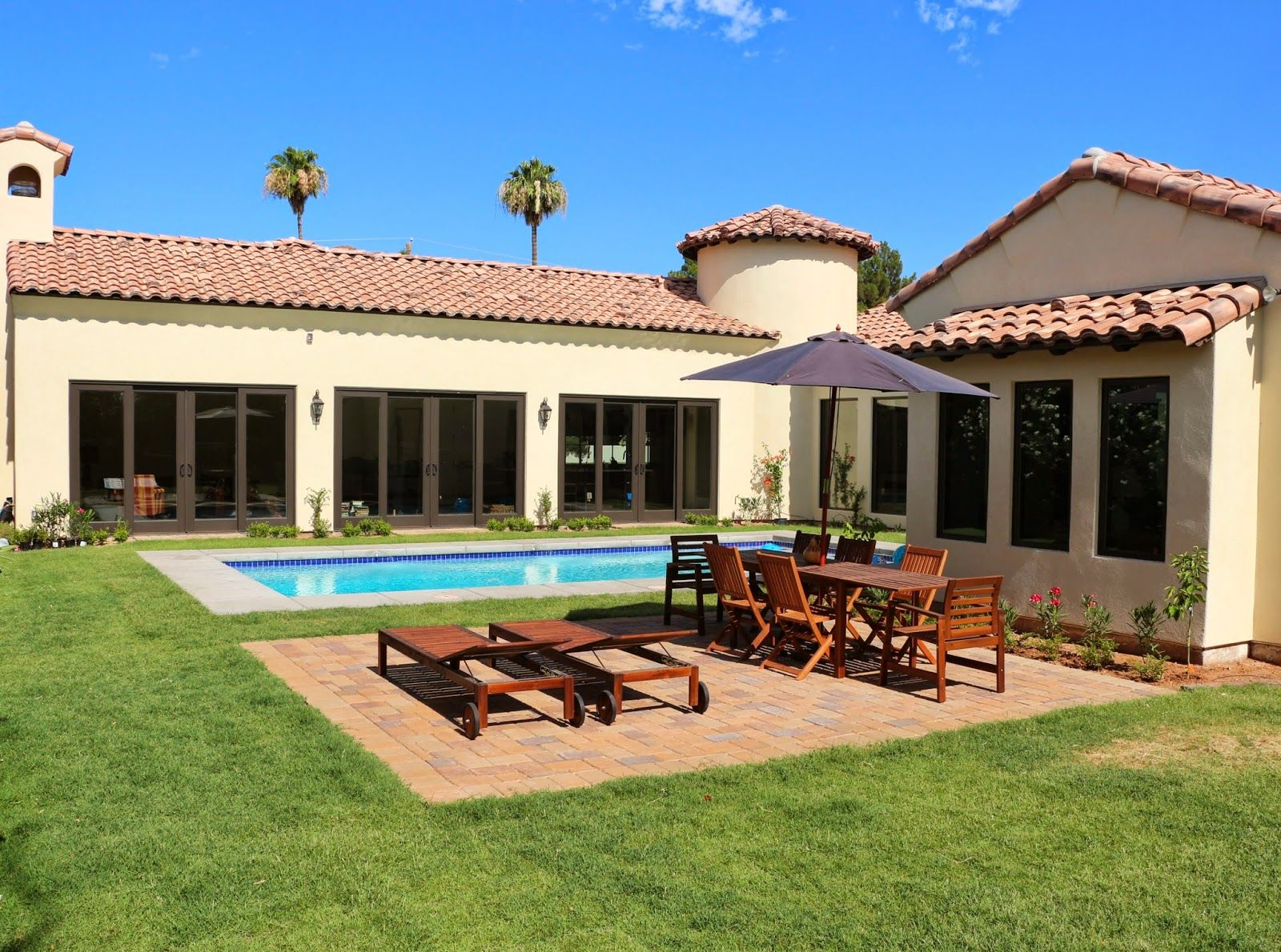 Spanish Style Swimming Pool Spanish Colonial House 4