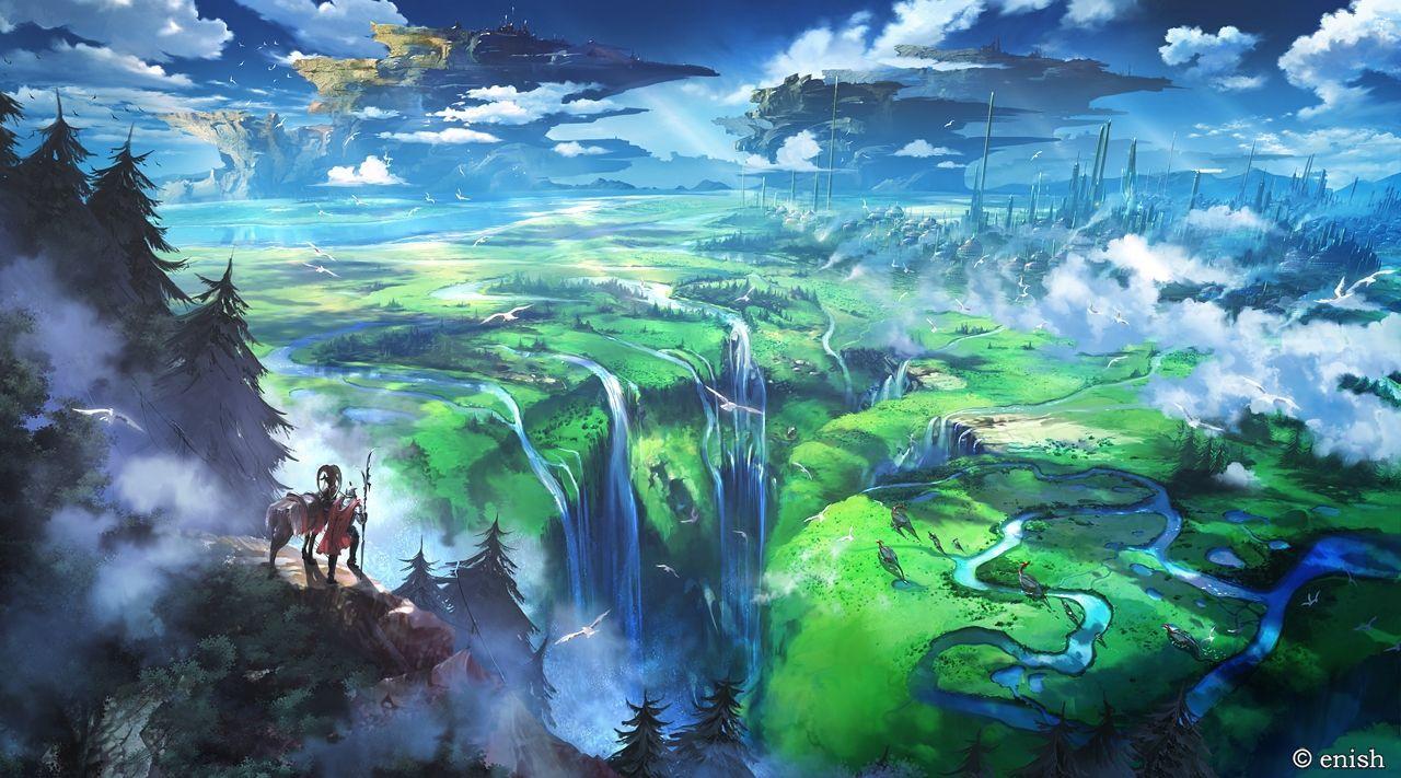 10++ 4k Anime Landscape Wallpaper