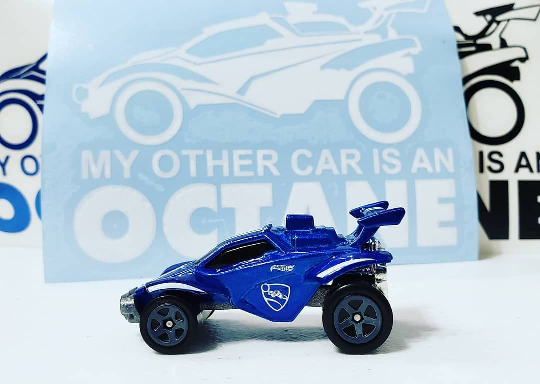That One Decal 5 Shipped Dm If You Want One Octane Myothercar Decal Sticker Rocket League Hotwheels Vinyl Toy Car Window Decals Vinyl Decals [ 767 x 1080 Pixel ]