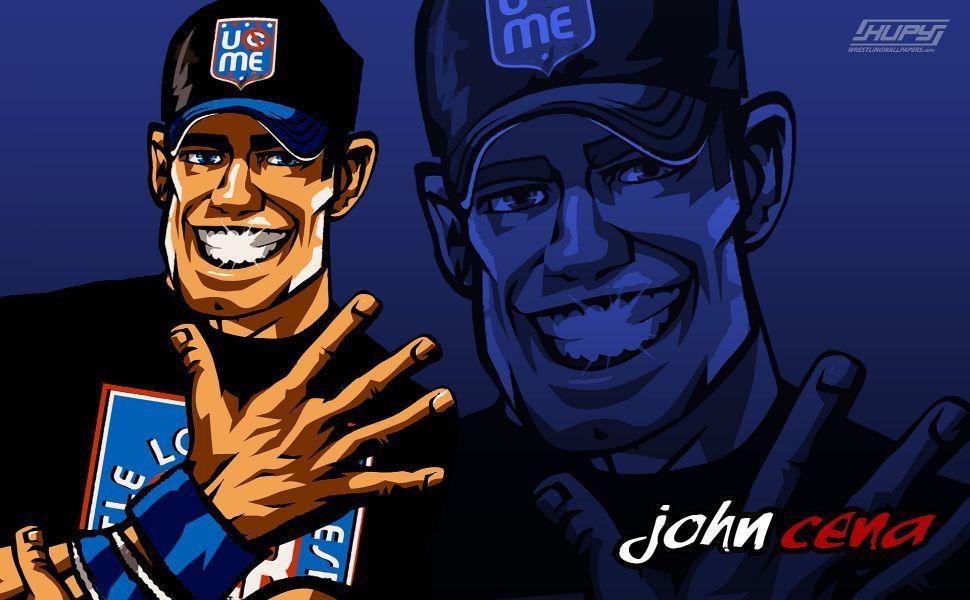 John Cena Cartoon HD Wallpaper | Wallpapers | Cartoon ...