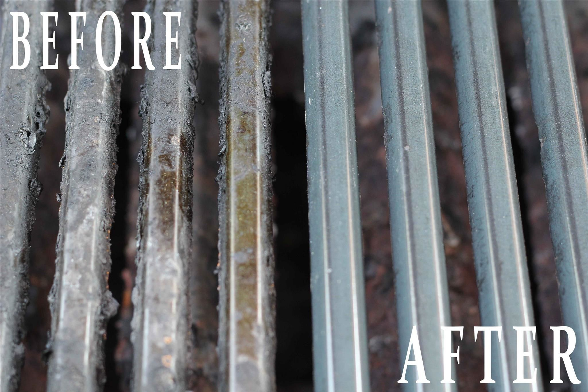 How To Clean Restore A Stainless Steel Grill Deep Cleaning