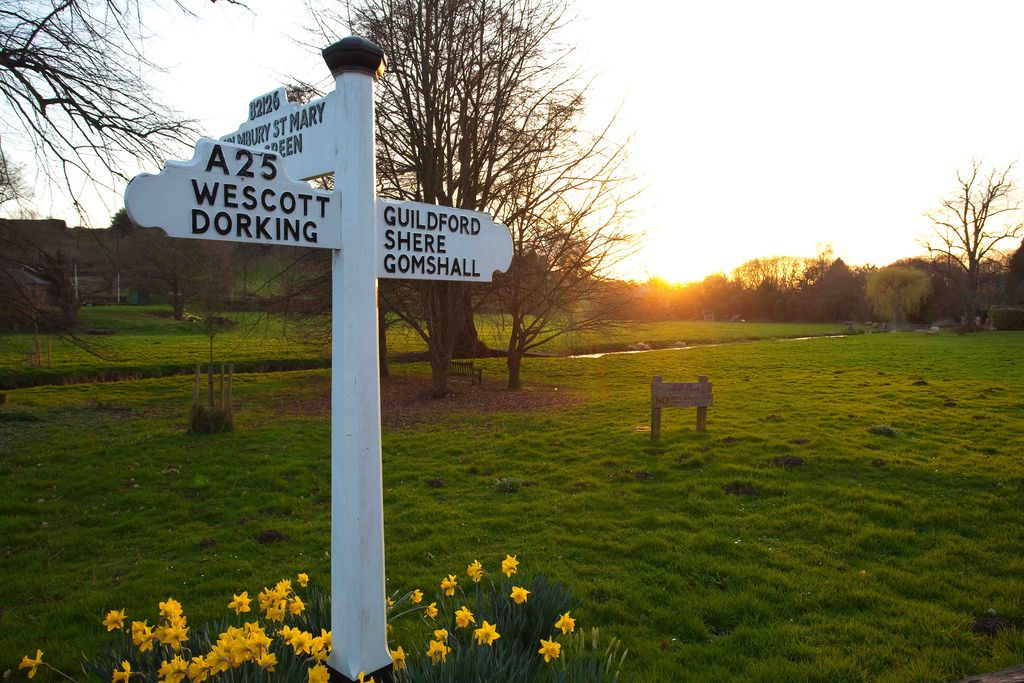 Adam Swaine posted a photo:  Beautiful Village in the Surrey Hills - www.adamswaine.co.uk