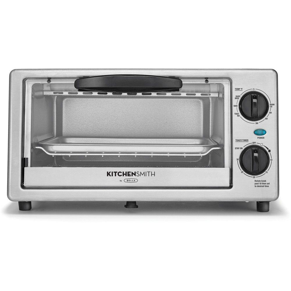 Kitchensmith Toaster Oven Stainless Steel Stainless Steel Oven Toaster Oven Toaster