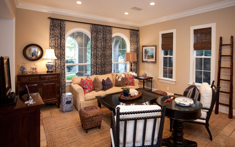 Ravishing Damask Curtains Decorating Ideas | Living room ...