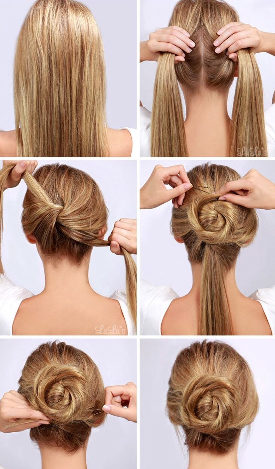 Cute updo hairstyles pinterest updo hair style and military bun twisted bun hair tutorial offers a few simple steps to make your dream hair style a reality baditri Gallery