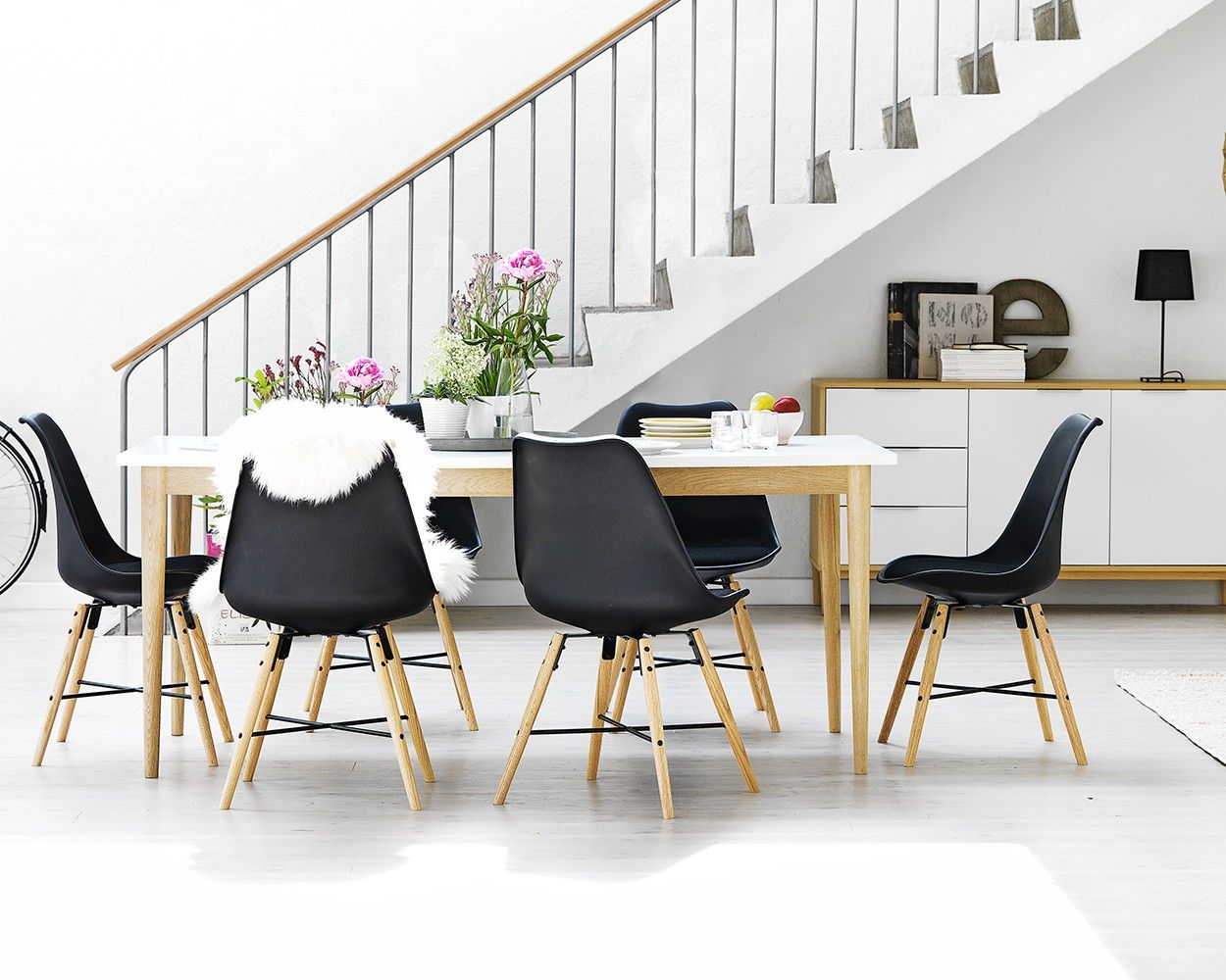 RISSKOV Table 4 KLARUP Chairs