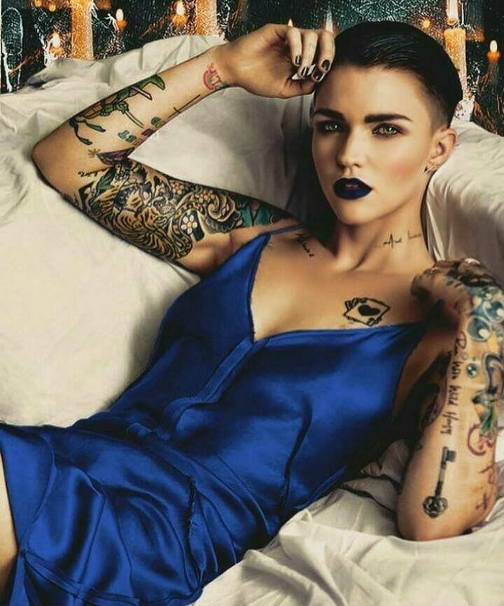 my girl crush ruby rose ruby rose crazy sexy kool. Black Bedroom Furniture Sets. Home Design Ideas
