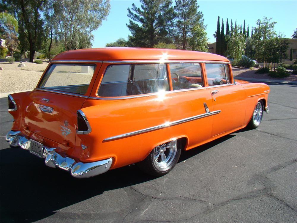 1955 Chevrolet 210 Handyman Wagon Resto Mod 71695 1955 Chevrolet Chevy Vehicles Chevrolet