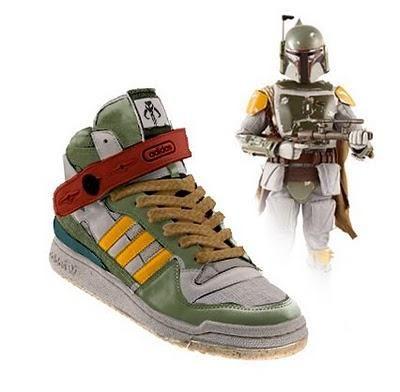 Star Wars Boba Fett Adidas trainers