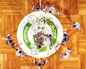 Boston Garden And The Celtics Parquet Floor Photos Celtic