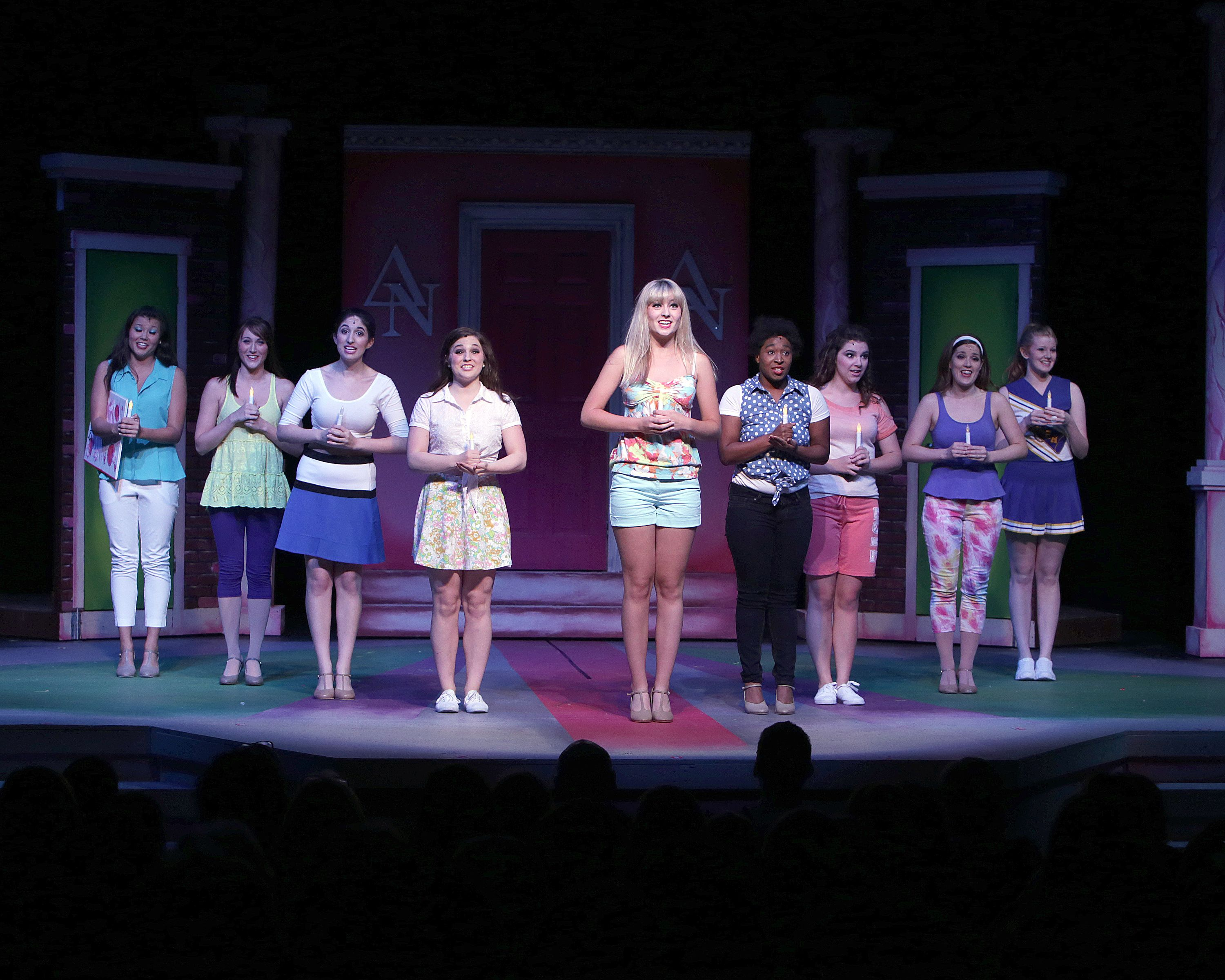 Legally Blonde The Musical Opening Number Legally Blonde Musical