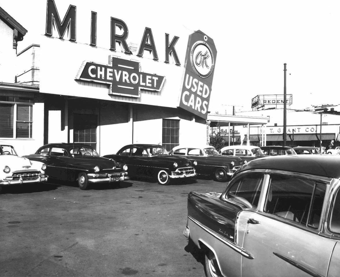 Vintage Chevy Dealership.. | Vintage Automobile Dealerships ...