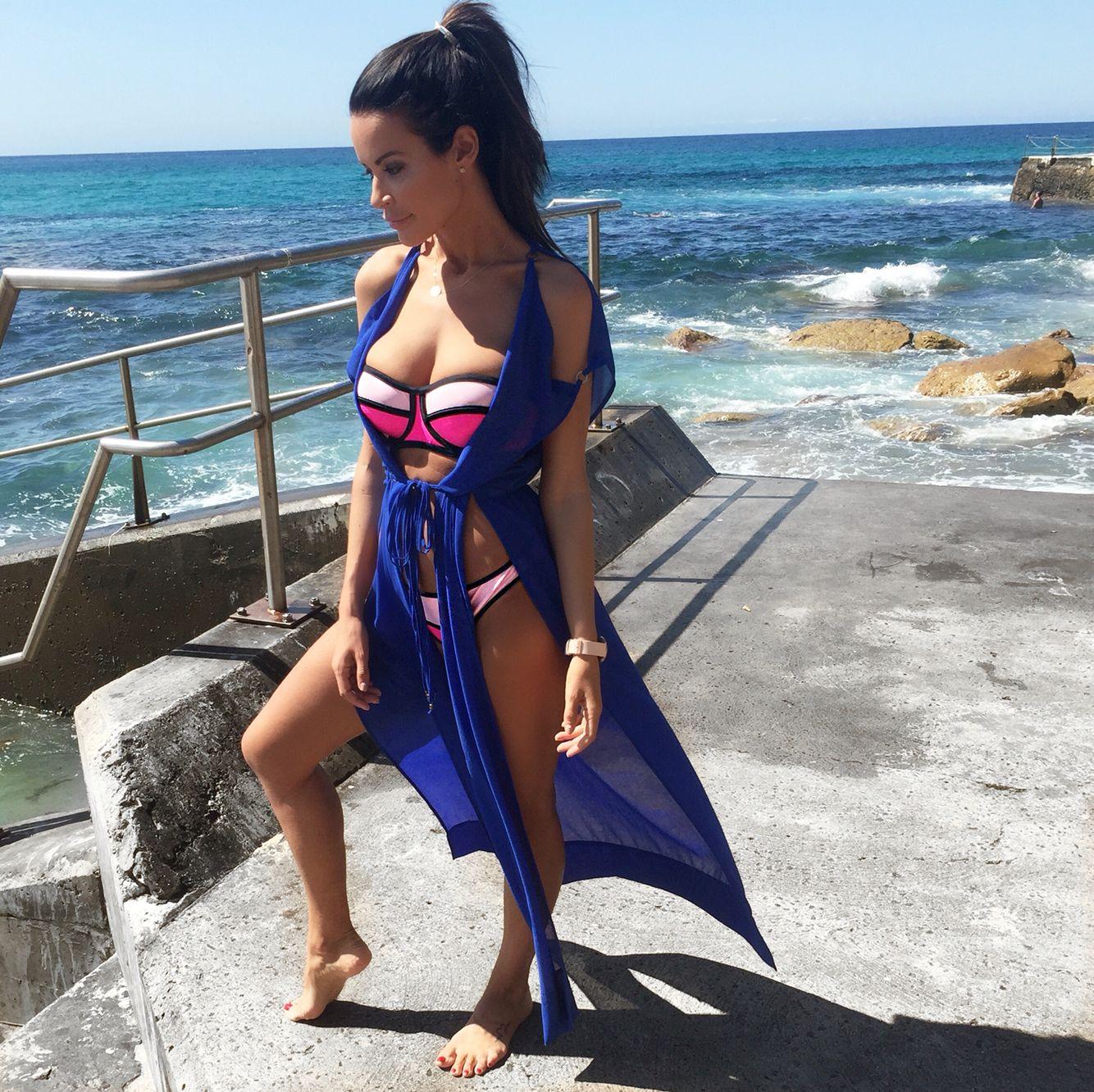 Classic Blue Santorini Cape The colour of the season of 2015 summer collection
