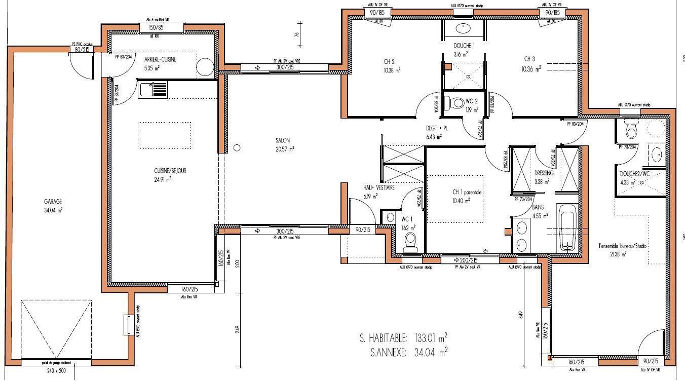 Plan Maison Contemporaine Toit Plat Pdf Idees De Travaux Contemporaine Maison House Plans How To Plan Floor Plans