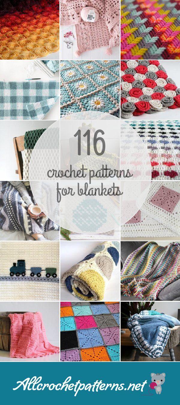 Crochet Patterns For Blankets   Knitting & Crochet   Ganchillo ...