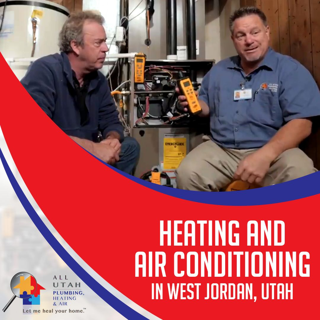 All Utah Plumbing, Heating and Air is your expert heating