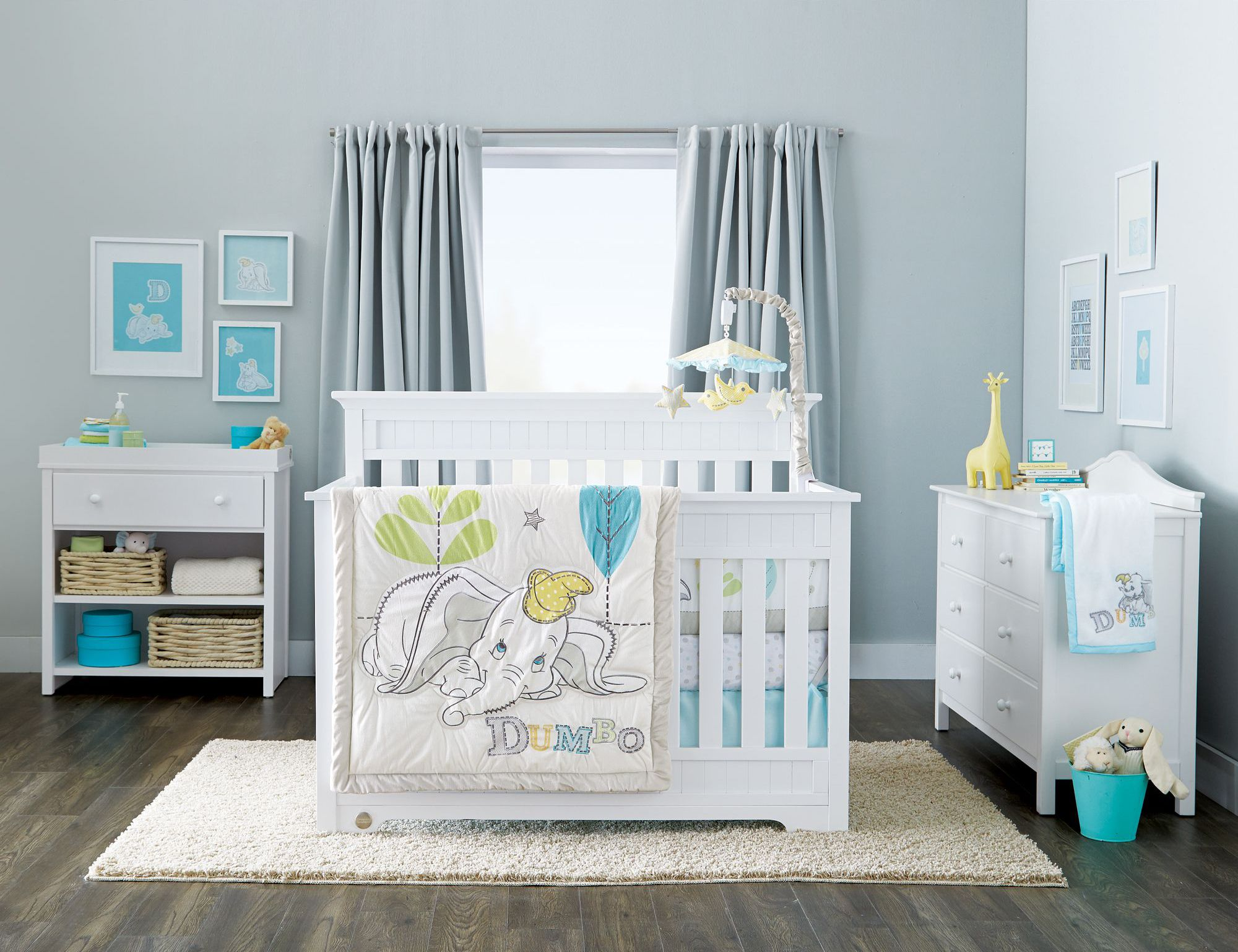 Fisher-Price® \'Lakeland\' 4-In-1 Convertible Crib | Nursery | Pinterest