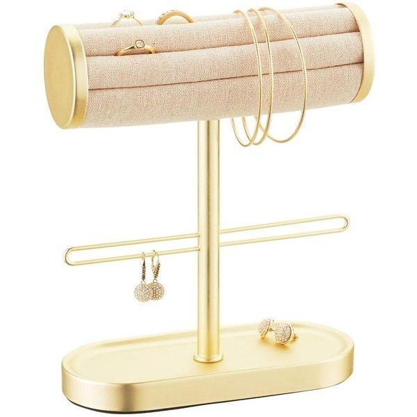 Umbra Gold Circa Bracelet Ring Holder 94 SAR ❤ liked on