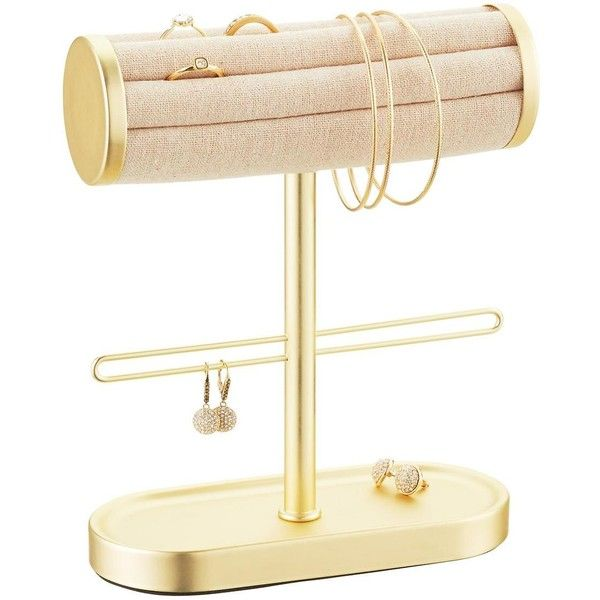 Umbra Gold Circa Bracelet Ring Holder 94 SAR liked on Polyvore