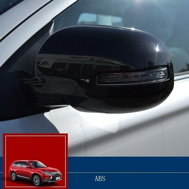 car accessories chromium parts mirror exterior sequins mouldings 16 modified FOR Mitsubishi Outlander #Affiliate