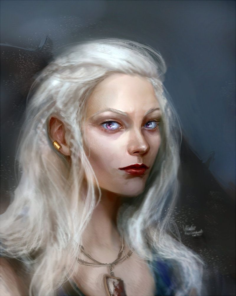 Svetlana   Art, Deviantart, Albino girl