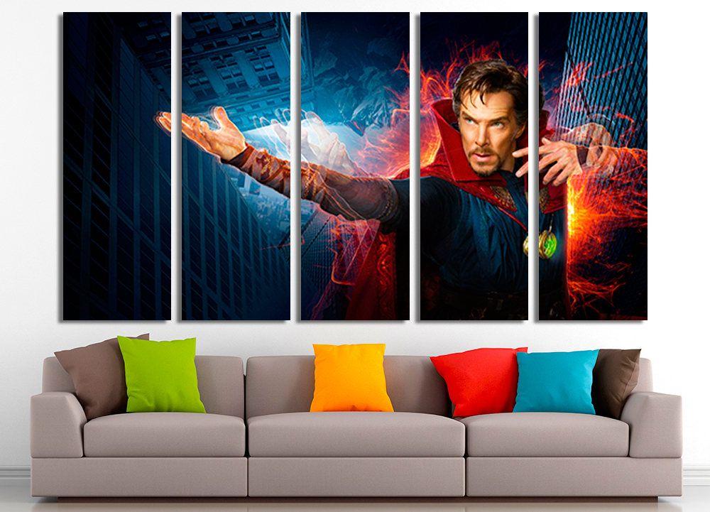 Doctor Strange Marvel art Doctor Strange canvas Marvel Wall art Marvel home  sc 1 st  Pinterest & Doctor Strange Marvel art Doctor Strange canvas Marvel Wall art ...