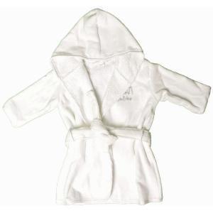 Deze heerlijke zachte badjas is zeer handig wanneer het kind uit bed of bad komt. Op www.shopwiki.nl #baby