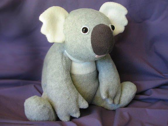 Free Stuffed Toy Patterns | ... Toy Pattern-Koala pattern, koala toy ...