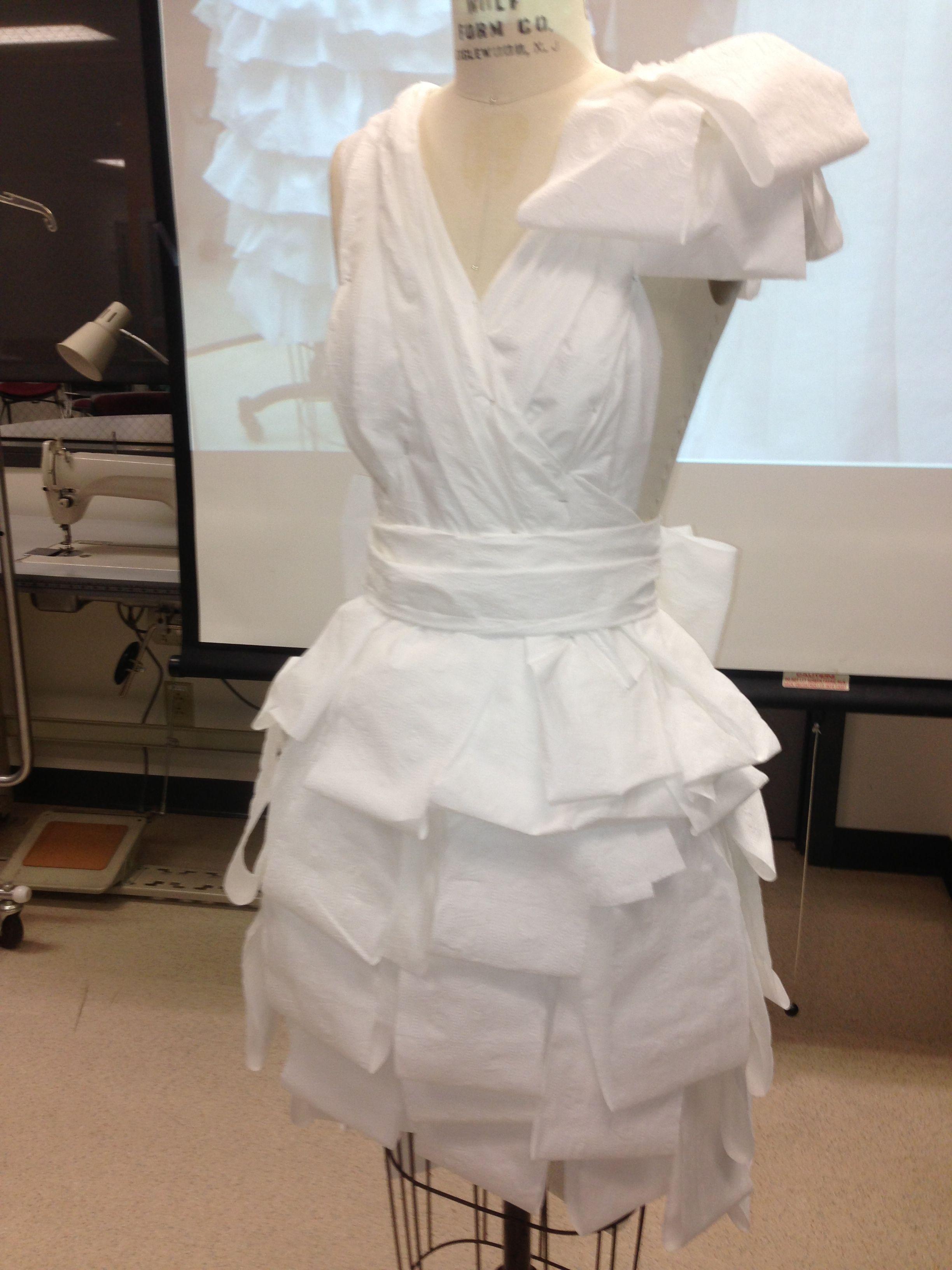 Toilet Paper Wedding Dress Fashion Show Dresses Toilet Paper Wedding Dress Paper Dress